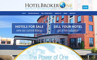 hotel real estate web design